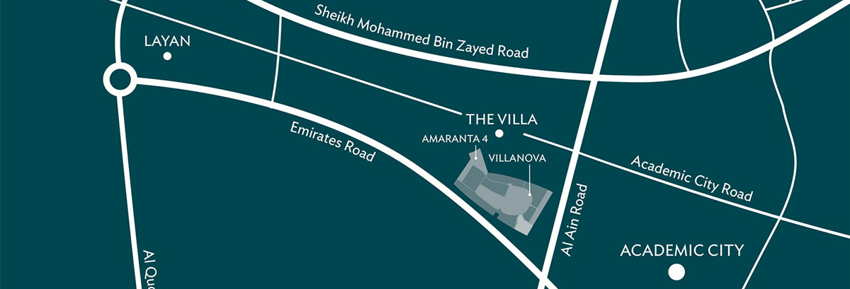 Amaranta Location Map